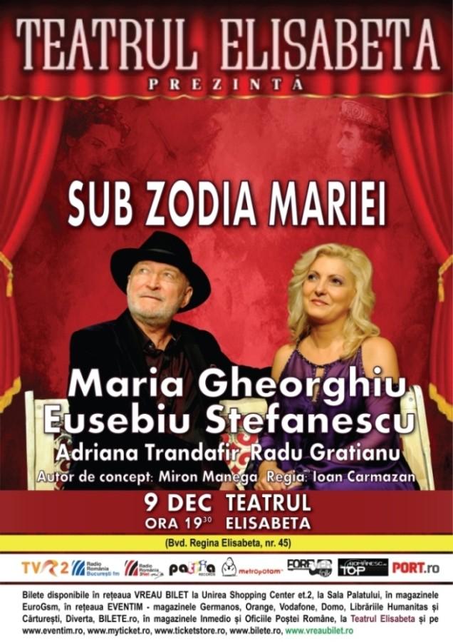 Sub zodia Mariei