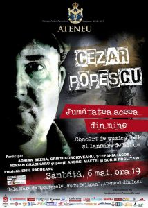 agenda cezar popescu lansare