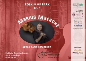 Folk in the park Matache
