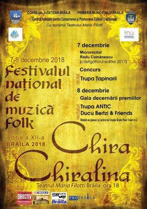 Recitalurile Chira CHiralina 2018